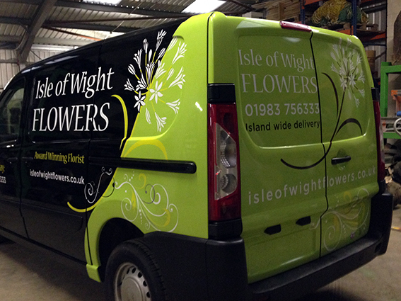 Isle Of Wight Vinyl Wraps