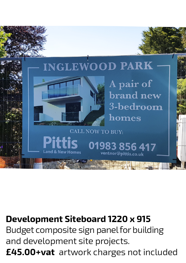 Isle Of Wight Siteboards